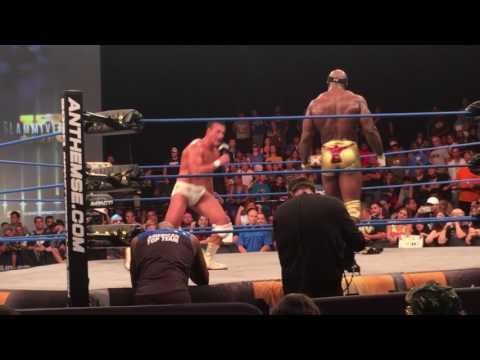 "Alberto Del Rio's (El Patron) ""Fuck WWE"" Promo - Slammiversary 2017 LIVE"