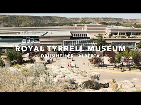 Royal Tyrrell Museum   Drumheller Alberta