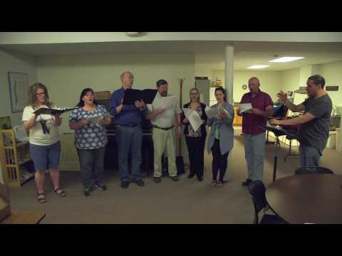 Wyoming County Chorale - Don't Think Twice, It's Alright (Rehearsal)
