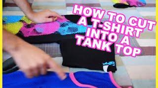 DiY: T-Shirt to Tank Top Tutorial [Guys/Girls]