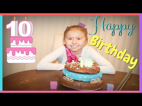 Double Digits! 10th Birthday!