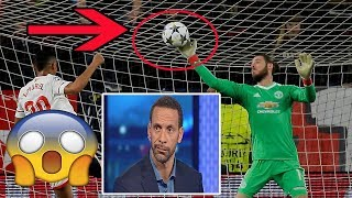 RIO FERDINAND REACTS TO DAVID DE GEA SAVE AGAINST SEVILLA: [OH MY GOD...HE'S THE BEST!]