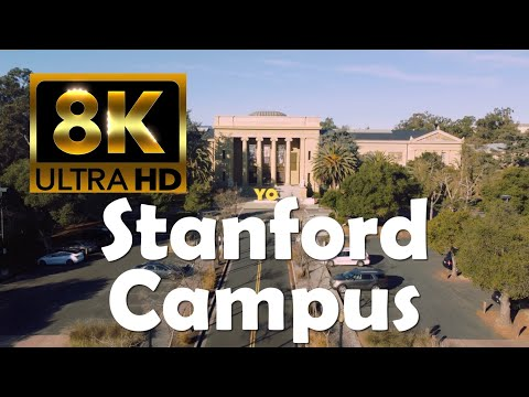 Stanford University | 8K Campus Drone Tour