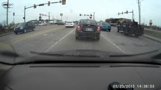 Cherokee citizen runs red light