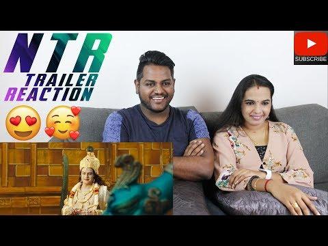 NTR Trailer Reaction | Malaysian Indian Couple | Nandamuri Balakrishna