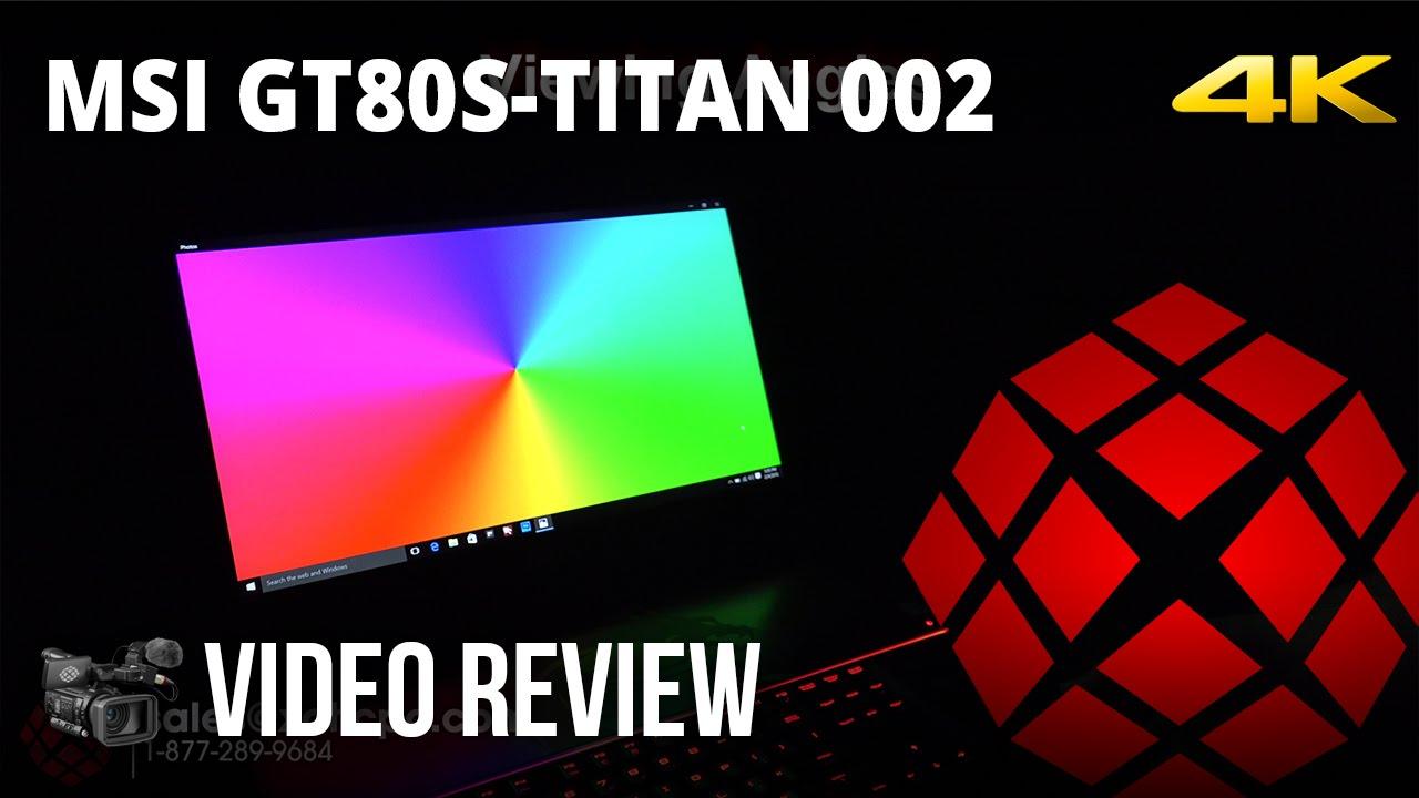 MSI GT80S 6QF Titan SLI EC Radio Switch Drivers Windows 7