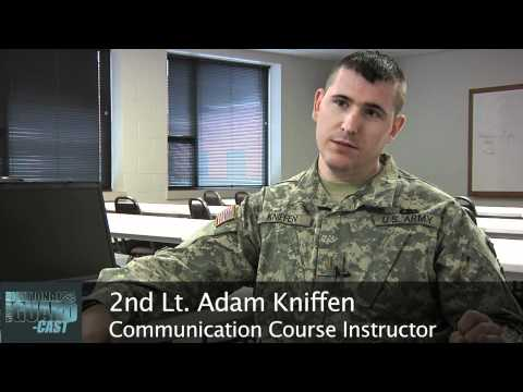 Missouri National Guard Soldiers Radio Communication Training