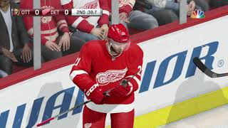 NHL 18 gameplay (PS4)