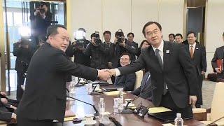 Kış Olimpiyatları Kore Yarımadası'nda gerilimi düşürdü Video