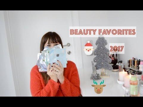 Beauty favorieten 2017 & mini shoplog Stockholm