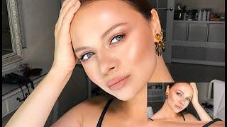 Сияющий макияж Подходит для любого цвета глаз