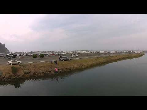 Salmon fishing Winchester Bay