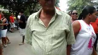Protesto na PE 082, em Camutanga