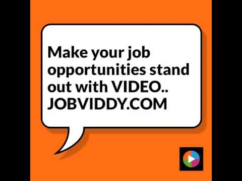 Make your jobs stand out with VIDEO