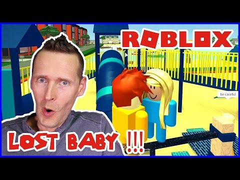 I adopted a baby in roblox