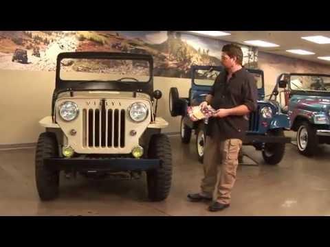 Willys Jeep CJ-3B Identification - Kaiser Willys Omix-ADA Tour