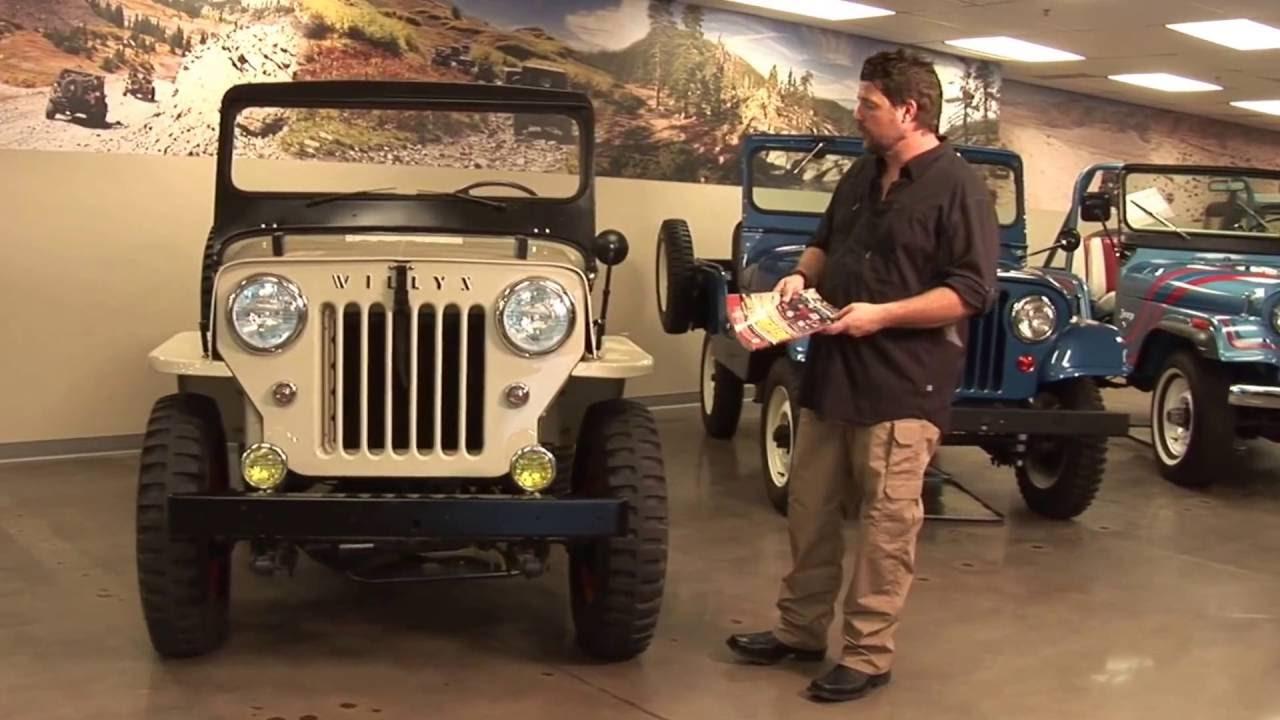 Willys Jeep Cj 3b Identification Kaiser Willys Omix Ada Tour Youtube