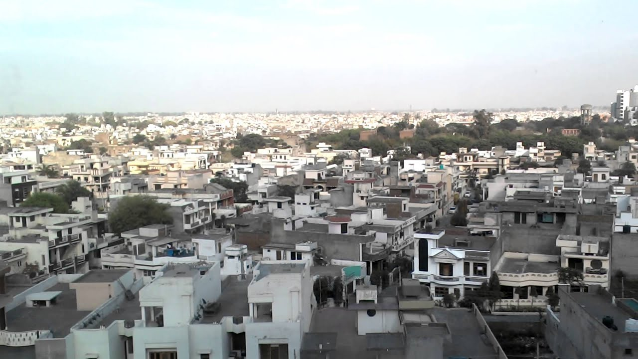 View Of Amritsar City From Trillium Mall Youtube
