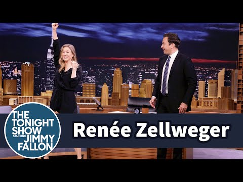 Renée Zellweger Teaches Jimmy Her Seventh Grade Tryout Cheer