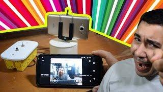 #criadoresdegambiarras Transforme seu celular velho em uma câmera de segurança!
