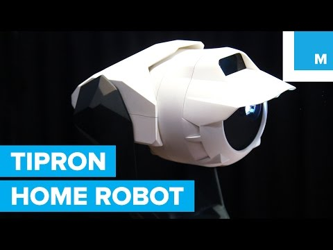 Cerevo Tipron First Look: Transforming Projection Robot | Mashable CES 2016