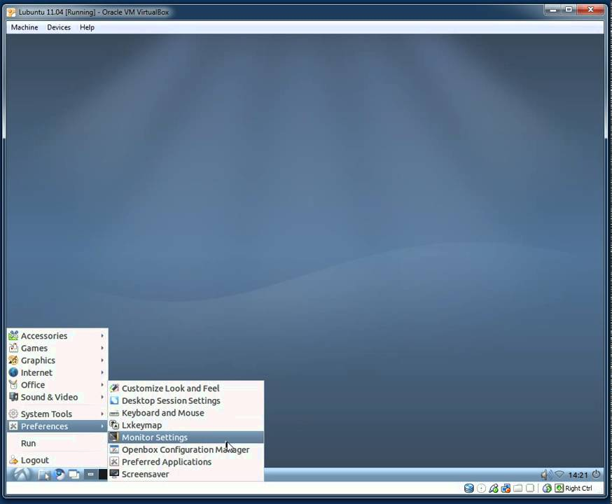 Lubuntu 11 04 - Installation and First Look