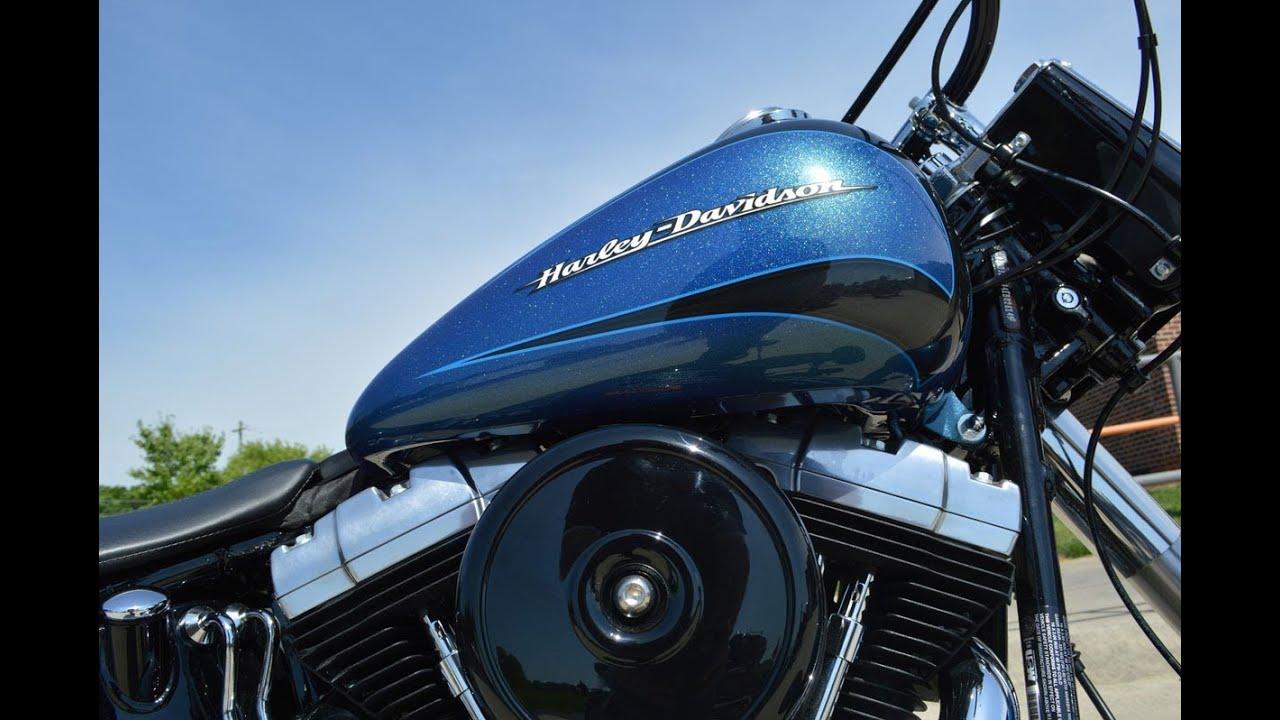 Harley Davidson Slim >> SOLD! 2014 Harley-Davidson® FLS - Softail® Slim® Daytona Blue - YouTube