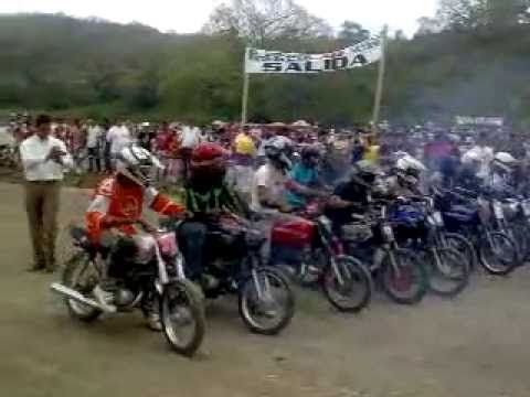 carrera de velocidad AX100 2011 ecuador - YouTube