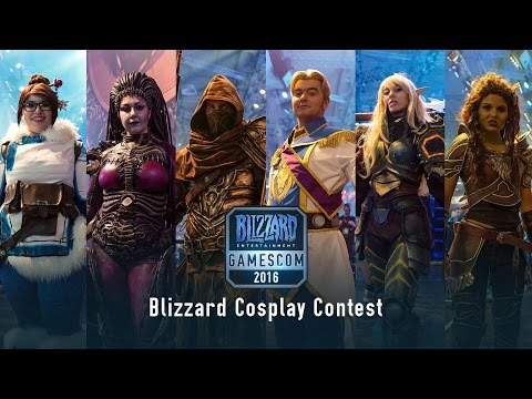 Blizzard Cosplay Contest At Gamescom 2016