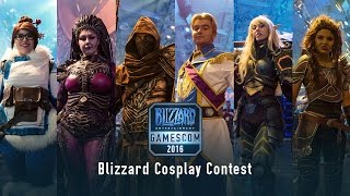 Repeat youtube video Blizzard Cosplay Contest at gamescom 2016