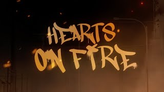 ILLENIUM and Dabin Feat. Lights - Hearts On Fire (Official Lyric Video)
