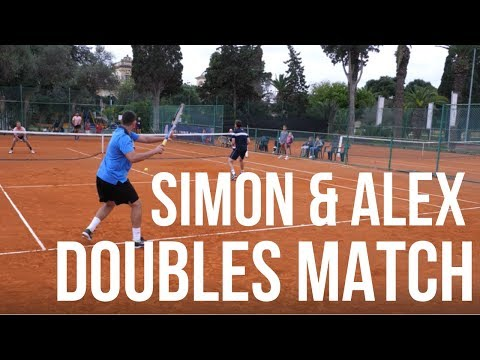 Simon & Alex vs Malta Davis Cup Team - Tennis Doubles Match
