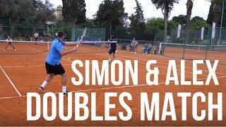 Simon & Alex vs Malta Davis Cup Team - Tennis Doubles Match