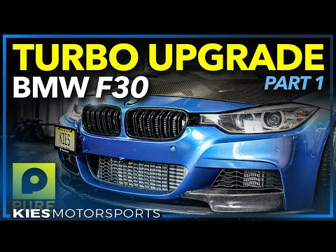 F30 BMW 335i xDrive Pure Stage 2 Turbo Installation | Part 1 #N55Purestage2