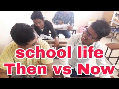 """School Life"" Then vs Now"