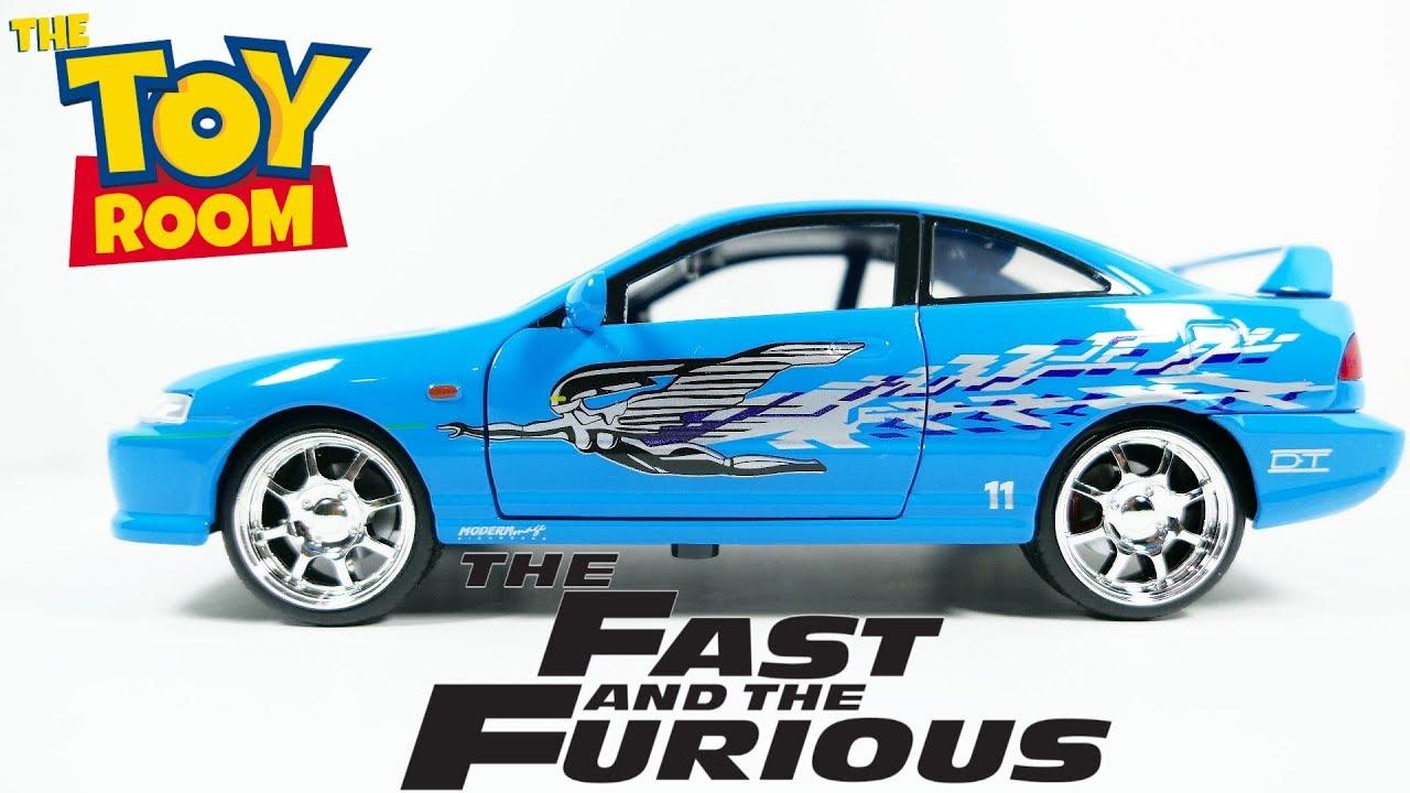 Mia`s Honda Integra Typ R blau Fast and /& Furious 1:24 Jada NEU