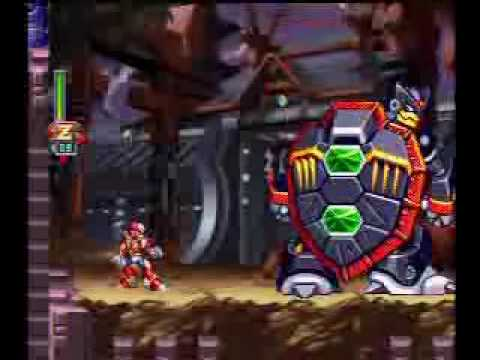 Megaman X6 100% Inami Temple First Pass