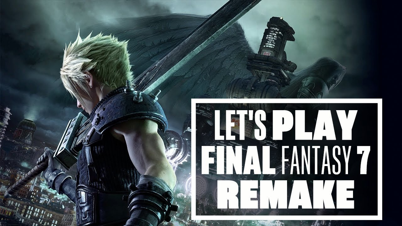 Let's Play Final Fantasy 7 Remake Demo - Final Fantasy 7 Remake Gameplay