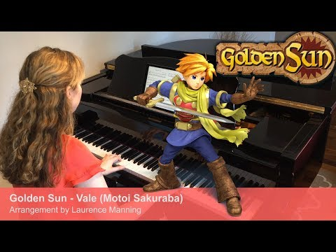 Golden Sun - Vale (Piano Cover) 黄金の太陽