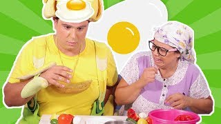 فوزي موزي وتوتي - وجبة فطور فوزي - Fozi's breakfast
