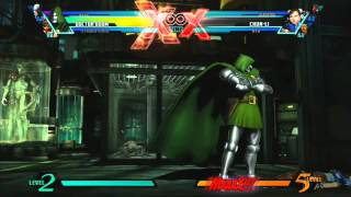 """UMVC3 Dr.Doom Combo Video-""""You Have No Hope"""""""