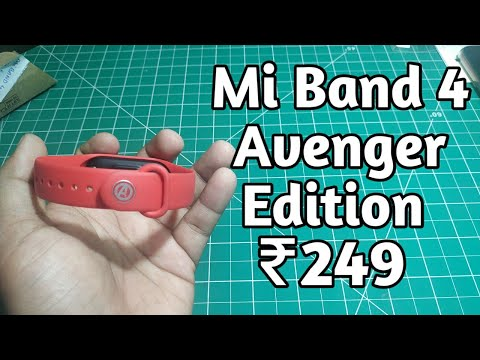 Mi band 4 avenger Edition @ Rs 249, Buy Mi Band 4 Avenger Edition Strap In India