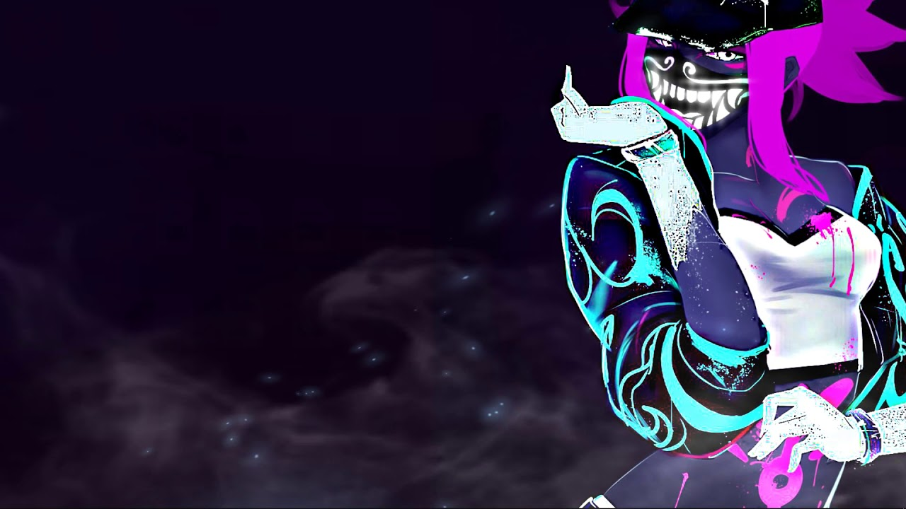 Preview Wallpaper Engine Akali In Kda Skin Simple Effects League Of