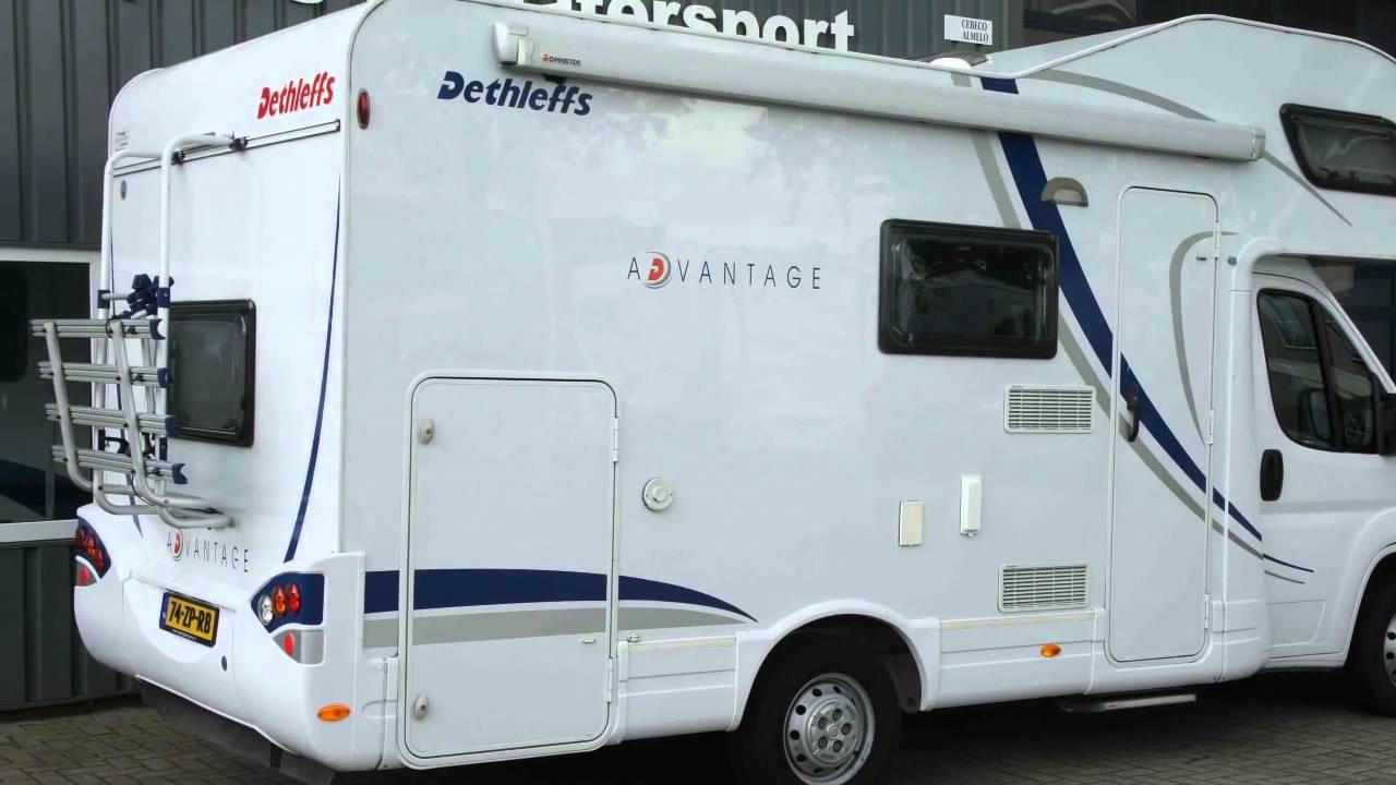 Dethleffs Camper Met Stapelbed.Kampeerauto Te Koop Dethleffs Advantage A 5881 Stapelbed Garage