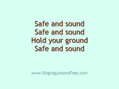 Capital Cities  Safe and Sound, Lyrics