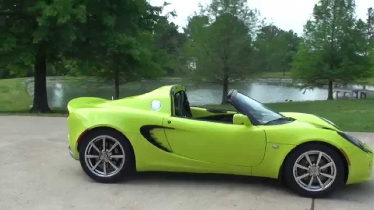 hd video 2005 lotus elise used for sale krypton green. Black Bedroom Furniture Sets. Home Design Ideas