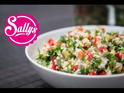 orientalischer couscous salat veganes rezept youtube. Black Bedroom Furniture Sets. Home Design Ideas