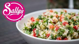 orientalischer Couscous Salat / veganes Rezept