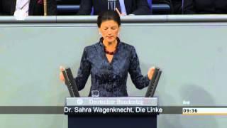 Lammert schaltet Wagenknecht das Mikro ab
