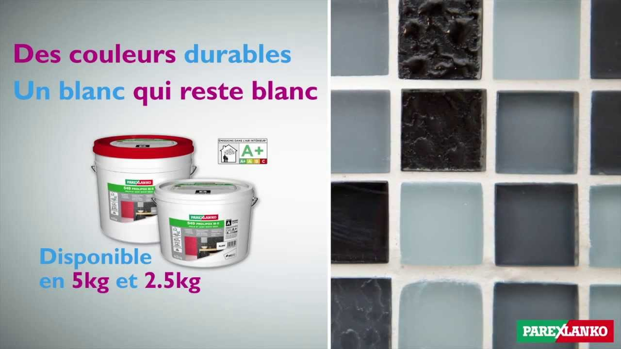 Joint Epoxy Colore Fin Et Facile A Appliquer Parexlanko Youtube